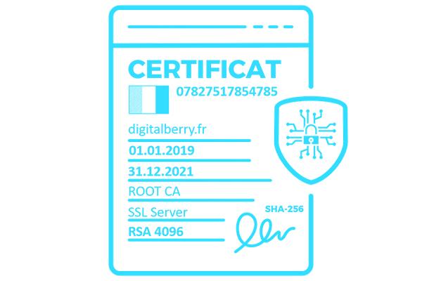 certificat sha 256
