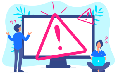 Insecure connection: digital certificate warning messages