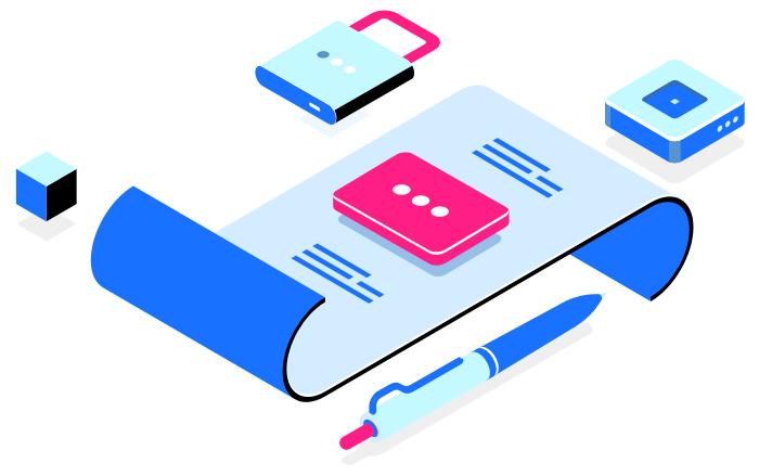 image d'un contrat sécurisé par signature électronique
